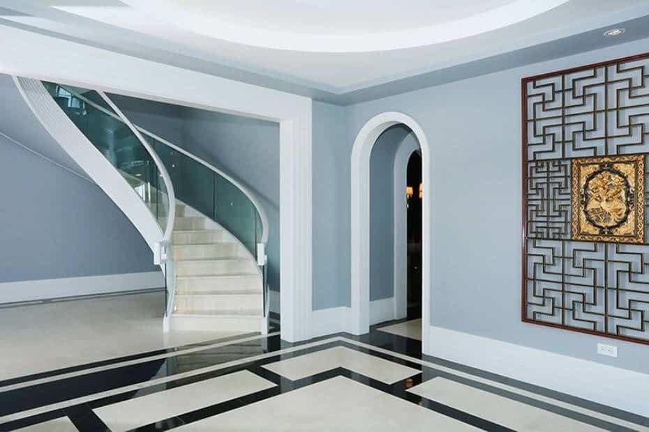 50 Spiral Staircase Ideas Photos | Semi Spiral Staircase Design | Curved Staircase | Residential Library | Interior | Futuristic | Iron