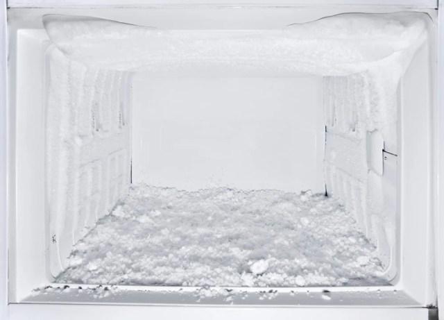Buzlu ve boş dondurucu