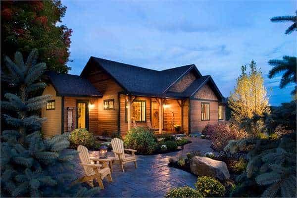 3 Yatak Odalı Tek Katlı The Cherokee Cabin Home