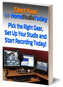 Start Your Home Studio Today eBook 3D image
