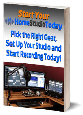 Start Your Home Studio Today book image