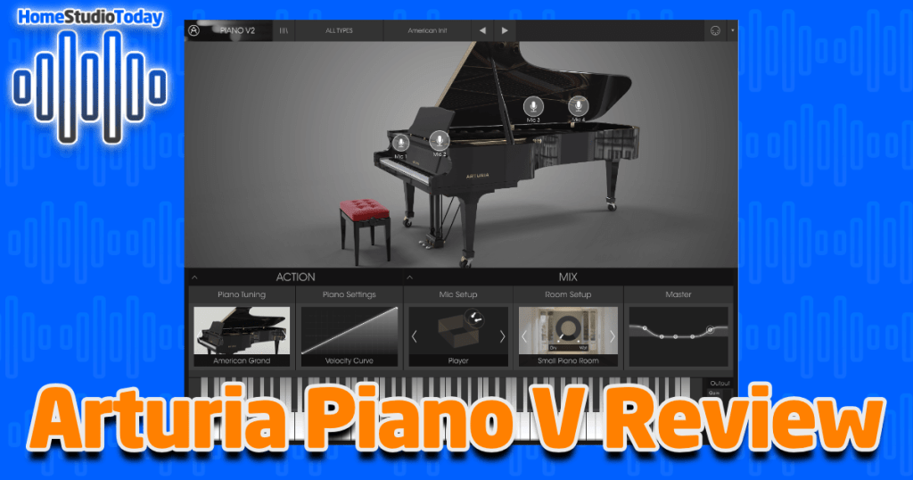 Arturia Piano V Review featured image