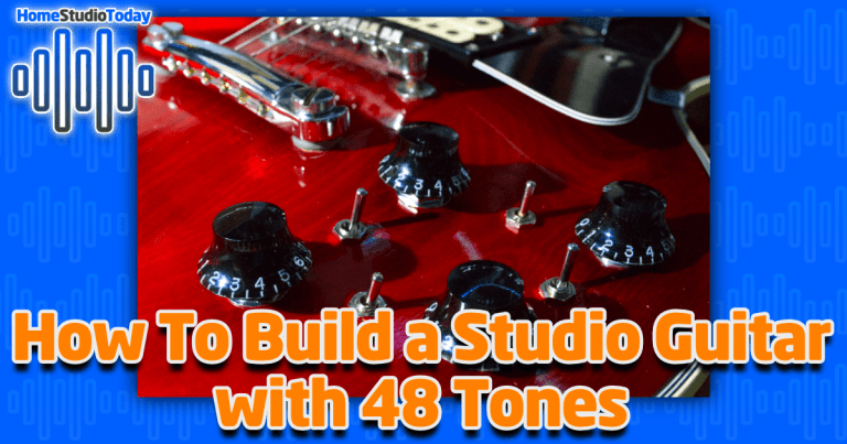 How To Build a Studio Guitar with 48 Tones