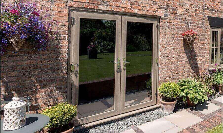elegant french patio doors
