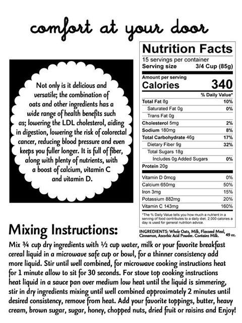Breakfast Power Cereal…