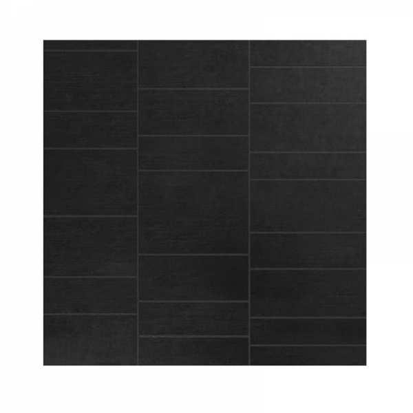 cassellie black stone tile effect wet wall panels wpa008