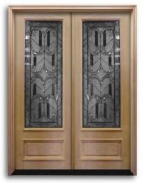 Surplus Doors & Half View Mini Blinds Fiberglass Entry ...