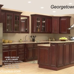 10x10 Kitchen Design Countertop Options For Georgetown Cabinets Home Surplus