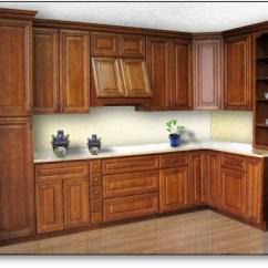 Walnut Cabinets Kitchen Lantern Lighting Creek Home Surplus Value