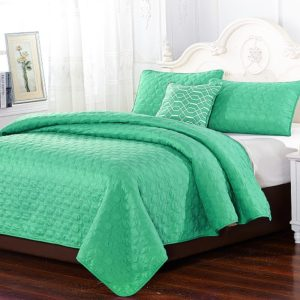Carrie Embroidery 4 Piece Coverlet Set