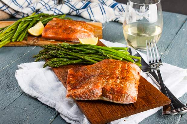 Food Network Grilled Salmon Sockeye Temperature