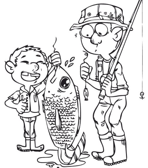 Grade 3 Writing Prompts: Fishing