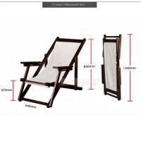Folding Wood Beach Chair | Wooden Relax Chair | Foldable ...