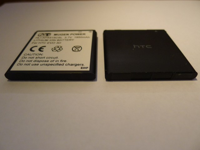 Mugen-Power & HTC Battery