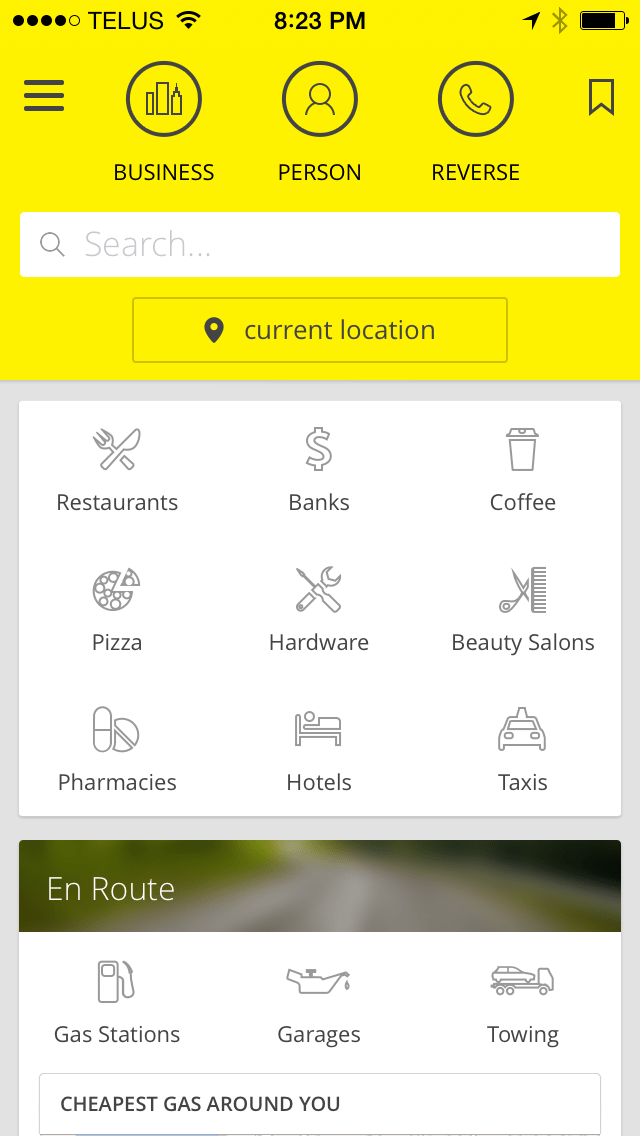 Yellow Pages --Now There's an App