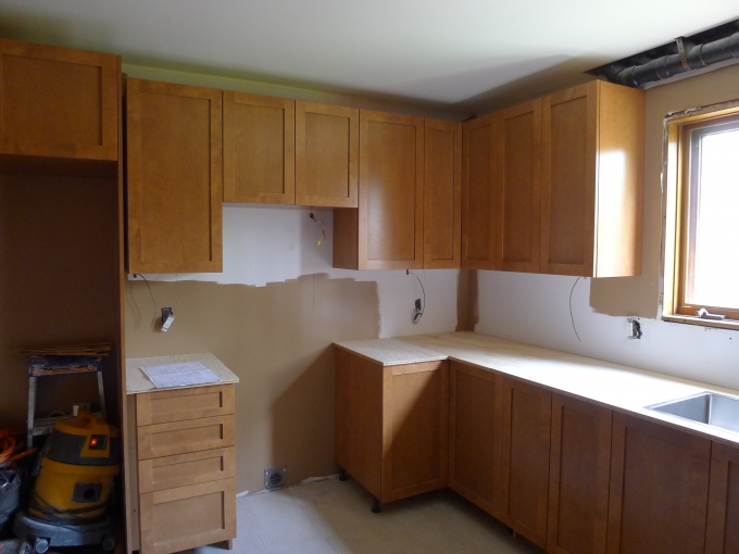 Cabinets done