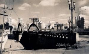 Viaduto Santa Tereza em 1947