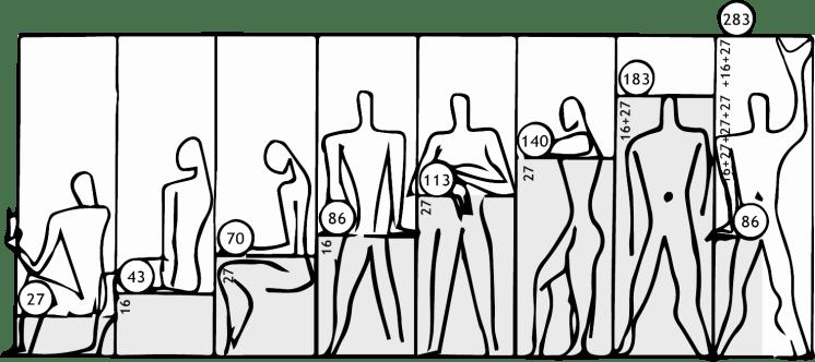 Como 10 grandes arquitetos enxergam a figura humana - Hometeka