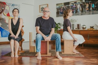 Nara Grossi, Roberto Maya e Giuliana Mora, Fotos por Bruna Bento para Hometeka