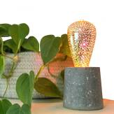 Mini Luminária em Granilite Áquila