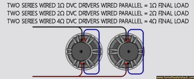 ohm subwoofer wiring diagram furthermore 4 ohm sub wiring