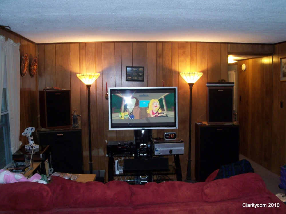 Klipsch Heritage small room theater  Home Theater Forum
