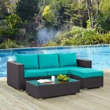 convene 3 piece outdoor patio sofa