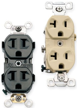 gfci receptacle wiring diagram wood boiler thermostat types of electrical receptacles