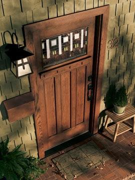 How to Buy a Wood Front Door