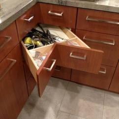 How To Make Kitchen Cabinets Outdoor Fridge Buying Guide Corner Drawer Is Outstanding For Reclaiming Lost Space