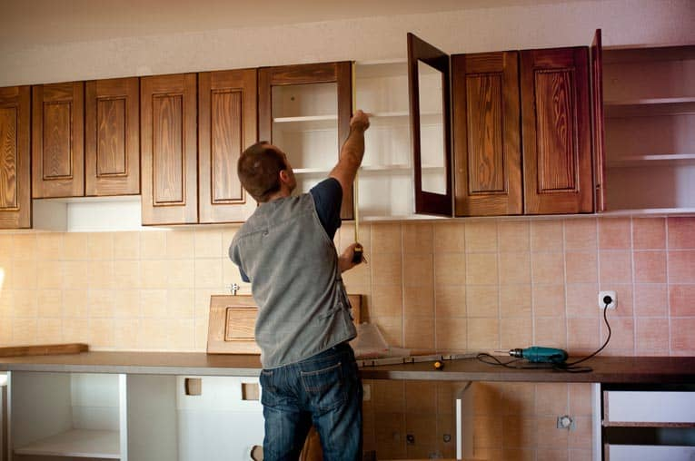 hanging kitchen cabinets designs for small spaces how to install