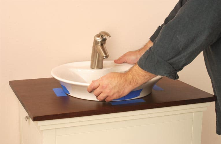 Install an AboveCounter Sink