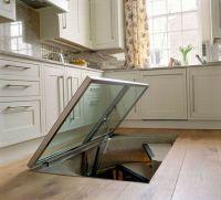 Spiral Wine Cellar beneath your kitchen floor! - Hometone