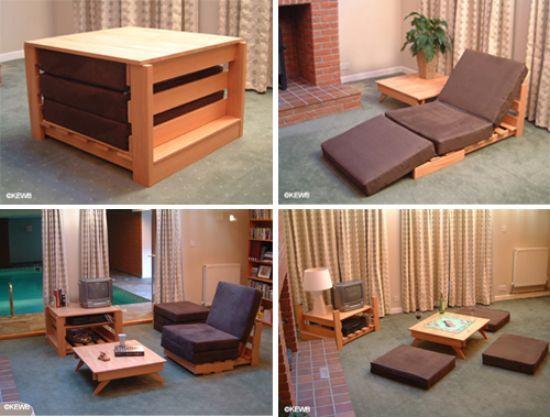 Multi Functional Furniture kewb - the space saving, multifunctional furniture - hometone