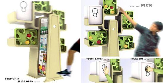 tree house fridge