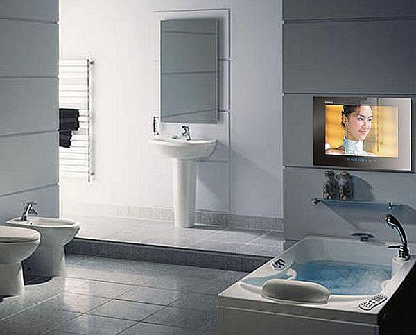 Bathroom TVs to enjoy your favorite show while bathing  Hometone