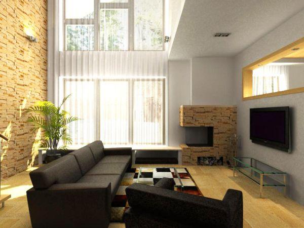 Symmetrical Room ways to make an asymmetrical room appear symmetrical - hometone