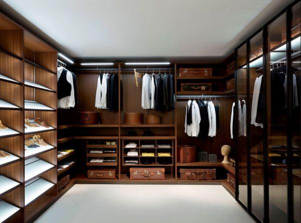 Customized walk-in closets
