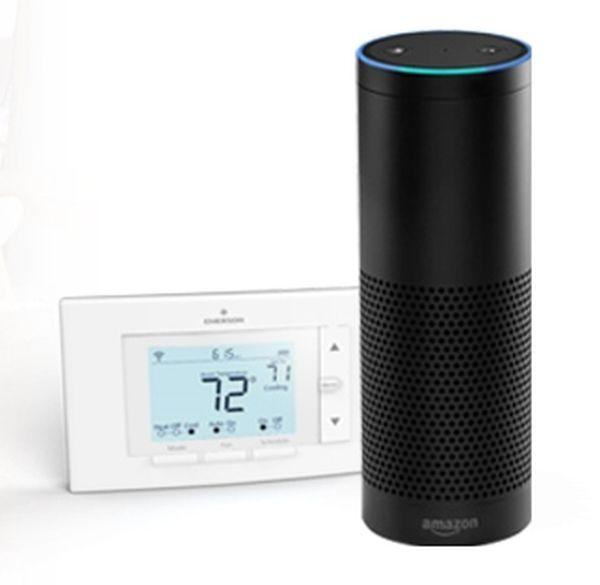 Sensi thermostat works with Amazon Echo