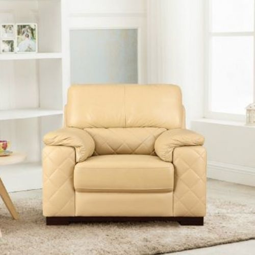 single sofa design slipcover dual recliner seater sofas buy one leather fabric online tuscany half in butterscotch colour by hometown