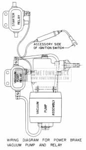 1953 Buick Power Brake Vacuum Pump Wiring Diagram