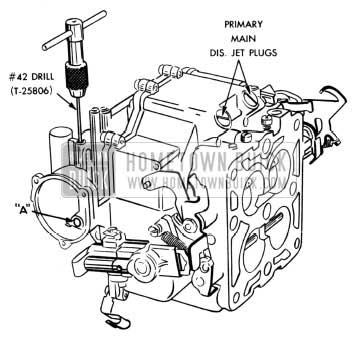 1954 Buick Engine, Fuel & Exhaust Maintenance