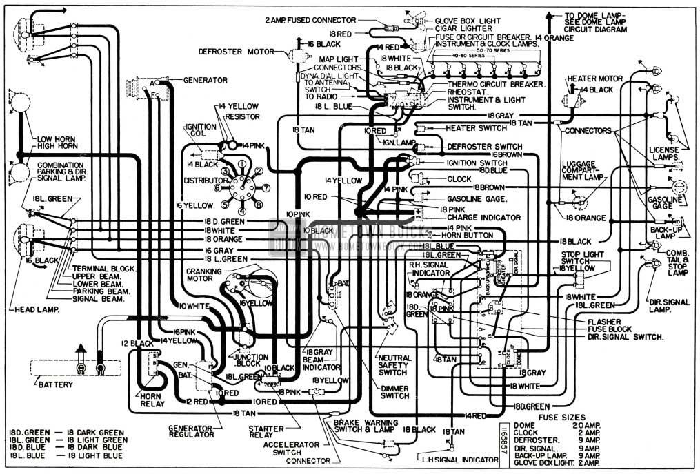 1954 Corvette Wiring Diagram