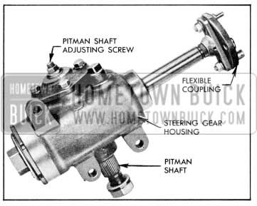 1957 Buick Steering Gear and Linkage Maintenance