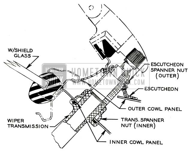 Service manual [How To Remove 2006 Buick Rainier Wiper Arm