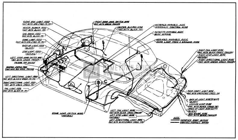 1950 Buick Wiring Diagram