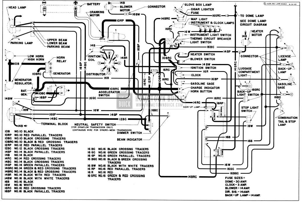53 Buick Wiring Diagram • Wiring Diagram For Free