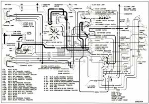 1952 Buick Chassis Wiring Circuit Diagram-Series 40