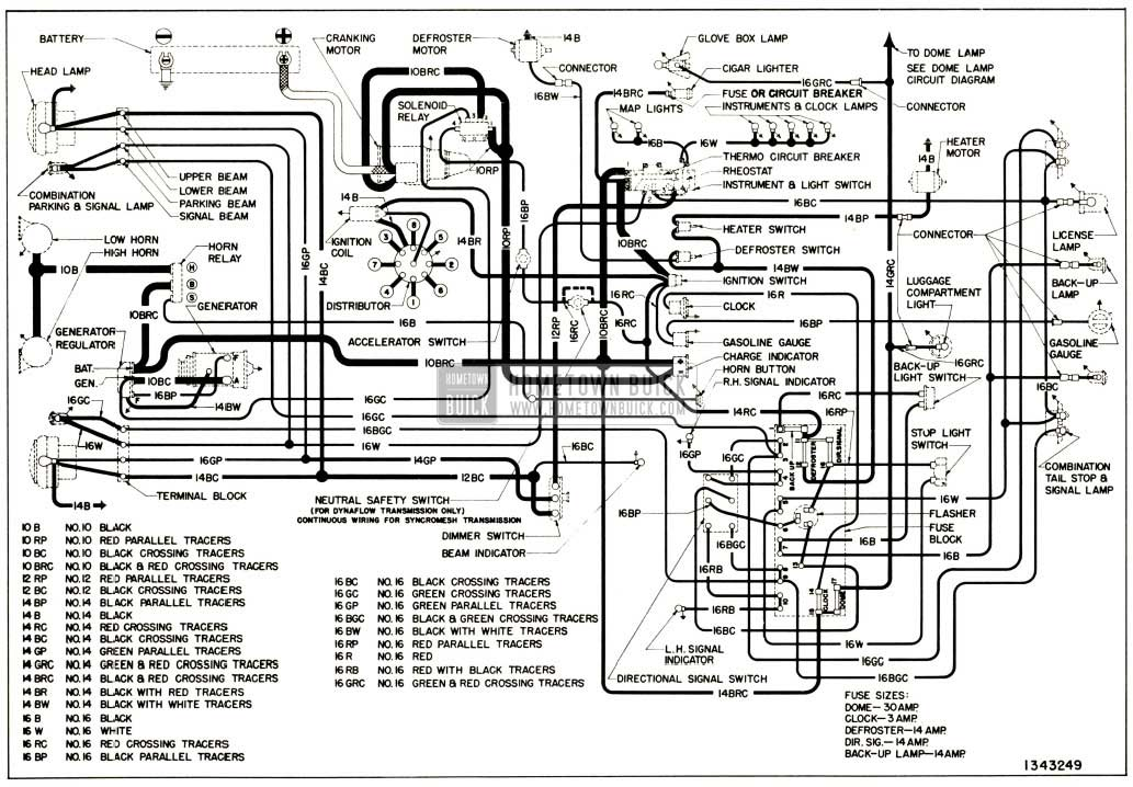 1955 Buick Roadmaster Wiring Diagram • Wiring Diagram For Free