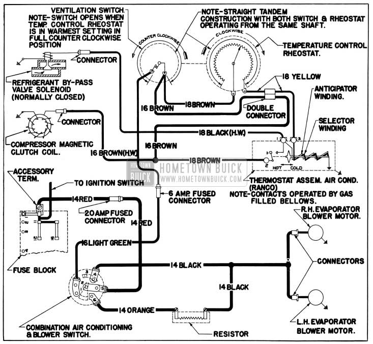 Buick Lesabre Air Conditioning Wiring Diagram. Buick
